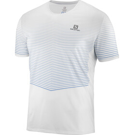 Salomon Sense Running T-shirt Men grey/white